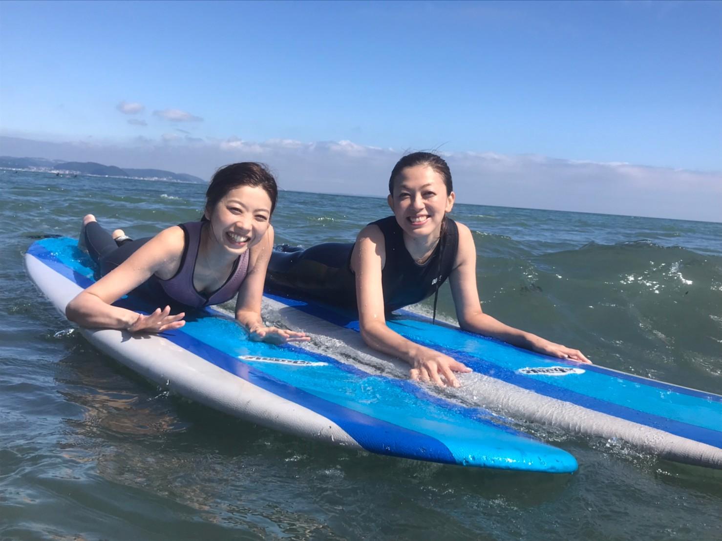 やってみたかったをカタチにする パウダーカンパニー湘南のサーフィン体験のアイキャッチ画像